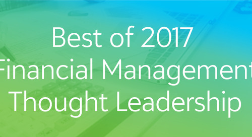 Best of 2017: Financial Management Thought Leadership Webinar Series
