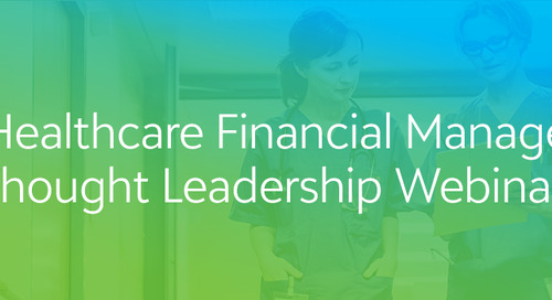 Healthcare Financial Management Thought Leadership