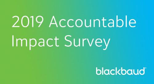 SURVEY: Accountable Impact Self-Assessment