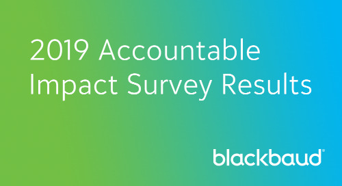 Accountable Impact Self-Assessment Results