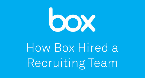 How to Hire a Recruiting Team, with Kenny Mendes from Box