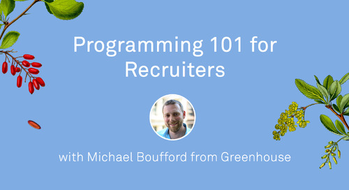 Programming 101 for Recruiters