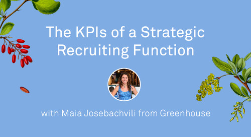 The KPIs of Strategic Recruiting Functions