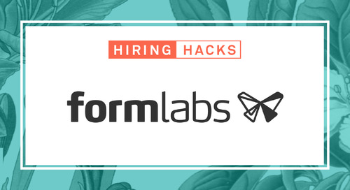 How Formlabs Designed a Growth-Centered Internship Program