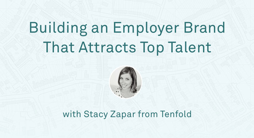 "Stacy Zapar - ""Building an Employer Brand That Attracts Top Talent"""