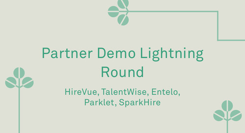 """Partner Demo Lightning Round"""