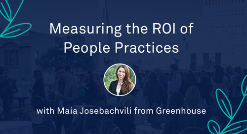 "Maia Josebachvili - ""Measuring the ROI of People Practices: Crafting the Business Case for Unlocking Investment"""