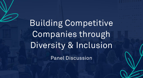 "Panel - ""Building Competitive Companies through Diversity & Inclusion"""