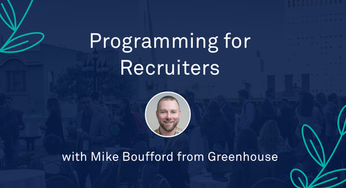"Mike Boufford - ""Programming for Recruiters"""