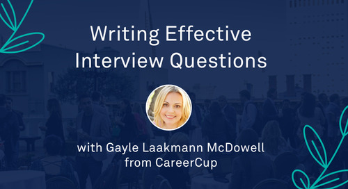 "Gayle Laakmann McDowell - ""Writing Effective Interview Questions"""