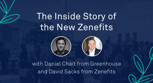 "Keynote - ""The Inside Story of the New Zenefits"""