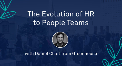 "Keynote - ""The Evolution of HR to People Teams"""