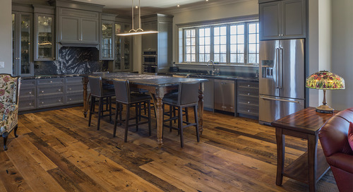 When to Use Wood Floors in The Kitchen