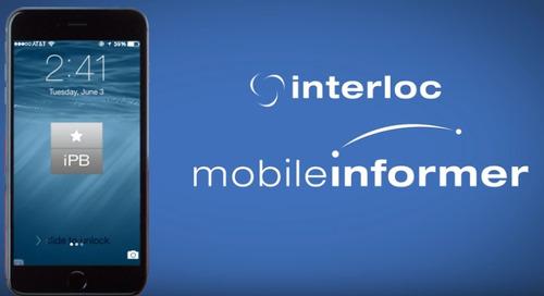 Interloc Mobile InformerPB - Purpose Built Maximo Mobile Solution