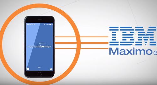 Mobile Informer311 - Self Service App for Maximo Mobile