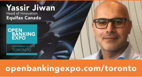 Open Banking Expo: 60 Seconds with Yassir Jiwan