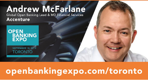 Open Banking Expo: 60 seconds with Andrew McFarlane