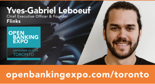 Open Banking Expo: 60 Seconds with Yves-Gabriel Leboeuf