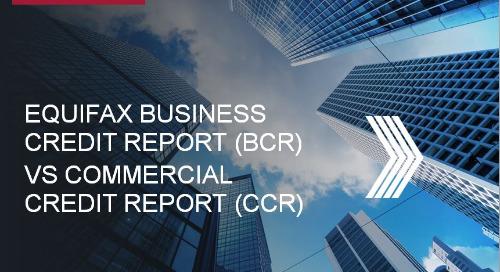 Webinar - Equifax Business Credit Report vs. Commercial Credit Report