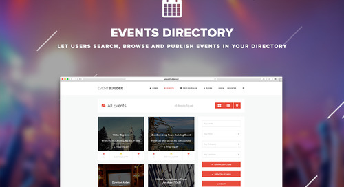 Don't Panic When Your Event Website Is Not Ready
