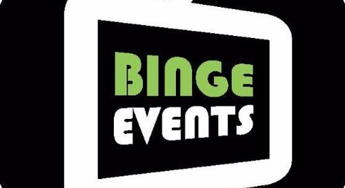 Binge Attending Events in 2018