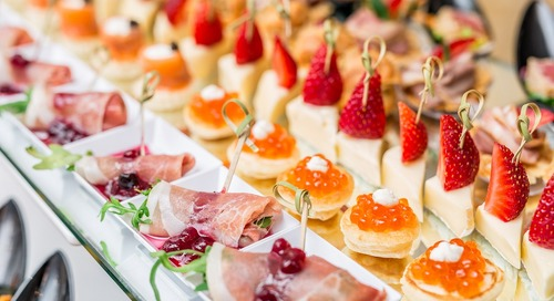 2019 Menu Ideas for Spring and Summer Weddings