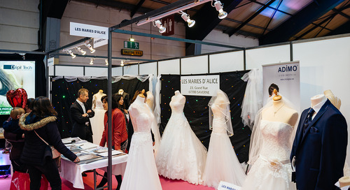 I Can Hear the Bells: 5 Trade Show Booth Ideas For Any Wedding Planner