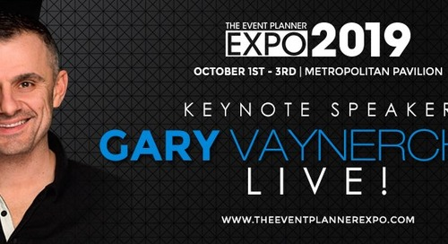 Gary Vaynerchuk to Speak at the Event Planner Expo 2019