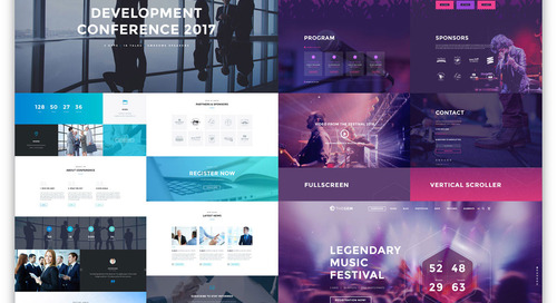13 Designs for Event Planning Websites That Attract More Customers