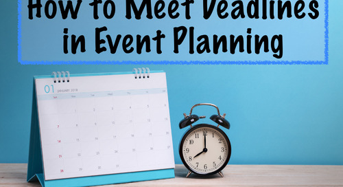 How to Meet Deadlines in Event Planning