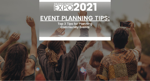 Top 3 Tips for Planning Community Events
