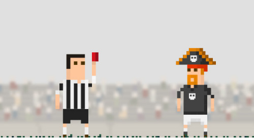 Infographic: Giving piracy a red card