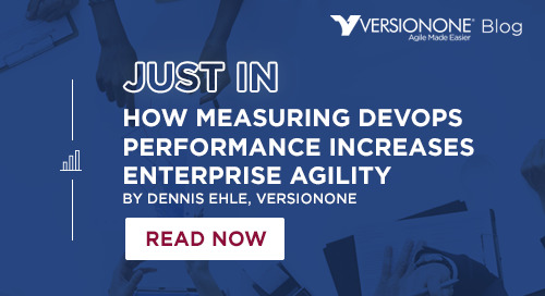 How Measuring DevOps Performance Increases Enterprise Agility