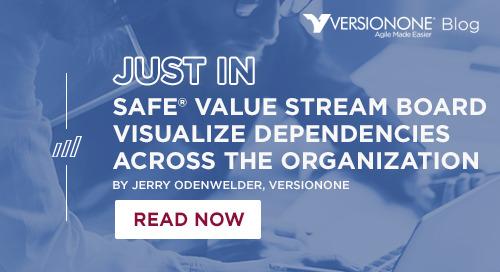 SAFe Value Stream Board Visualizing Dependencies Across the Organization