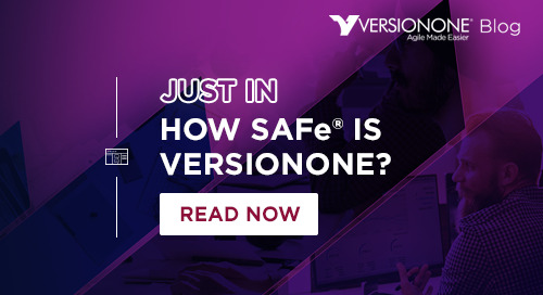 How SAFe is VersionOne?