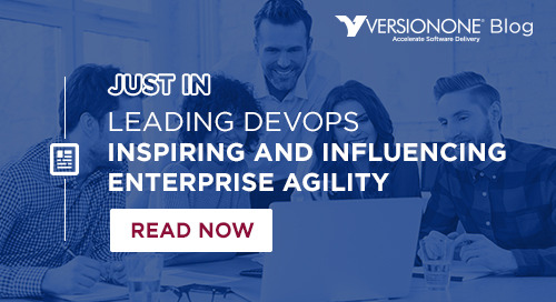 Leading DevOps — Inspiring and Influencing Enterprise Agility