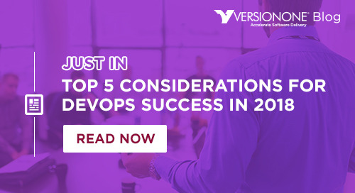 Top 5 Considerations for DevOps Success in 2018