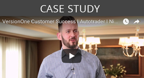 VersionOne Customer Success I Autotrader I Nick Park