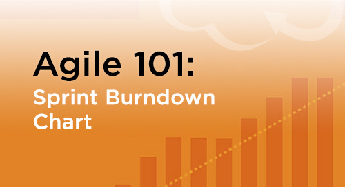 Sprint Burndown Chart for Agile Development Tracking