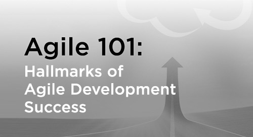 Characteristics of Agile Development Success