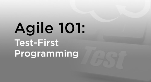 Test-Driven Development: Test-First Agile Programming
