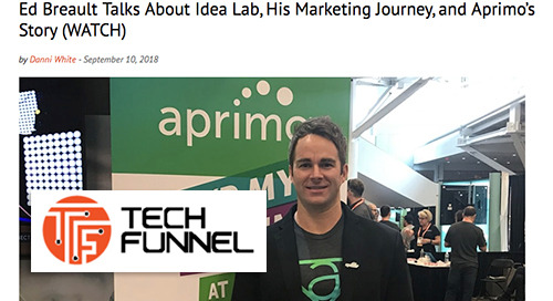 Ed Breault Talks About Idea Lab, His Marketing Journey, and Aprimo's Story (WATCH) [Tech Funnel]