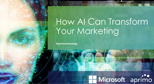 WEBINAR: Optimizing AI for Marketing: What's the future and what's just hype?
