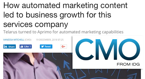 How automated marketing content led to business growth for this services company [CMO.com.au]