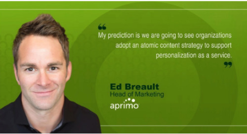MarTech Interview with Ed Breault, Head of Marketing, Aprimo [MarTech]