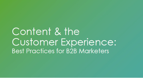 On-Demand Webinar: Content & the Customer Experience: Best Practices for B2B Marketers