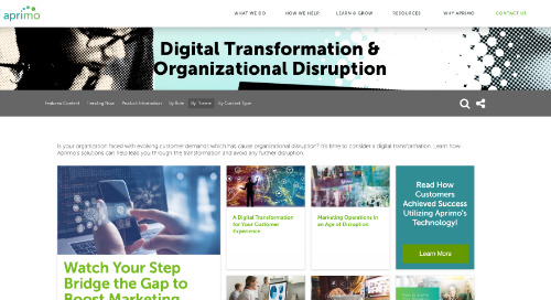 Digital Transformation & Organizational Disruption
