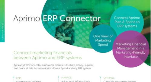 Aprimo ERP Connector Data Sheet