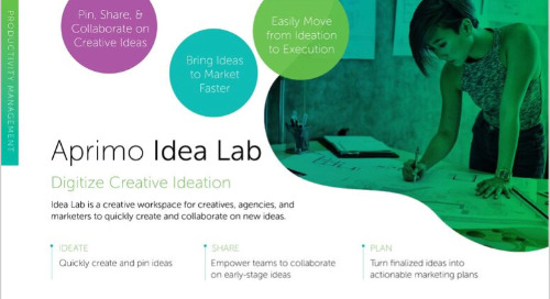 Aprimo Idea Lab Data Sheet