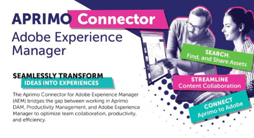 Aprimo Adobe Experience Manager Connector Data Sheet